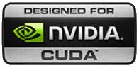 Designed for nVidia CUDA